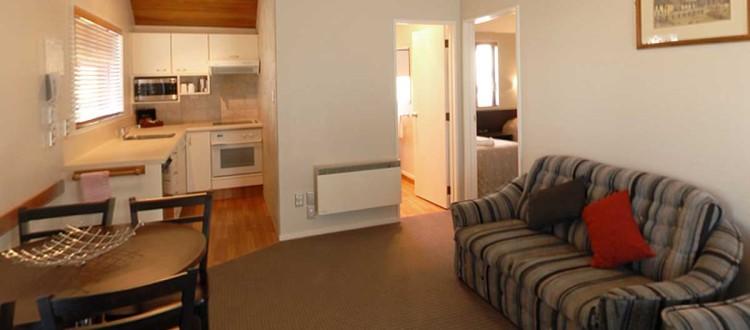 2 bedroom standard kitchen-lounge