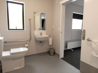 Superior-Studio Room Ashford Motor Lodge - Disabled toilet