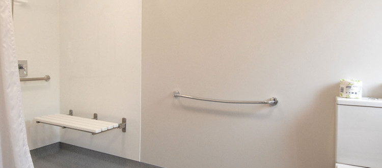 Superior-Studio Room Ashford Motor Lodge - Disabled toilet